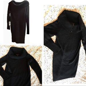 BCBG MaxAzria Black sweater dress